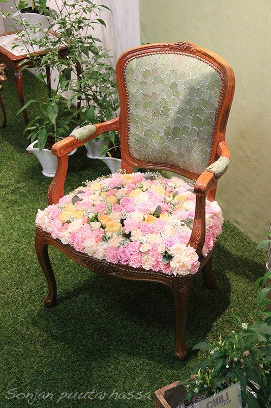 Tälle tuolille ei raaski istua!